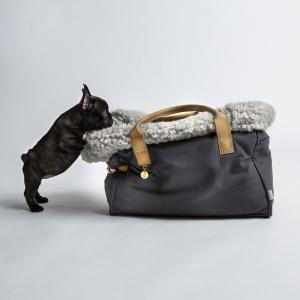 DOG CARRIER kabelka pro psy - šedá | LuxuryDog
