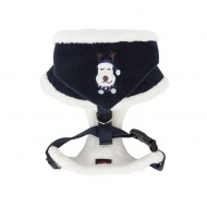 rudolph harness papd-ac1364-navy-back