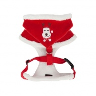 rudolph harness papd-ac1364-red-back